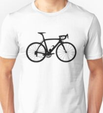 Bike Black (Big) Unisex T-Shirt