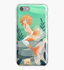 Veiltail mermaid iPhone Case/Skin
