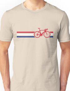 Bike Stripes British National Road Race v2 Unisex T-Shirt