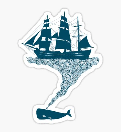 Exhaling flotsam Sticker