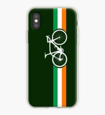 Bike Stripes Irish National Road Race iPhone Case
