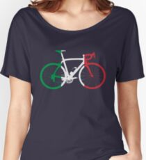 Bike Flag Italy (Big) Women's Relaxed Fit T-Shirt