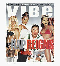 Rap Queens Photographic Print