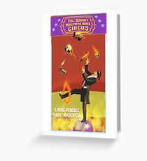 Edric Phibbs - Fire Juggler Greeting Card