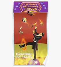 Edric Phibbs - Fire Juggler Poster