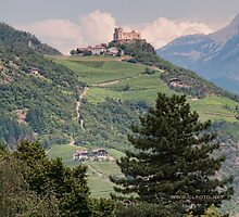 Castle Rafenstein, Bolzano, Italy by L Lee McIntyre