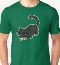 Ladybug and the cat Unisex T-Shirt