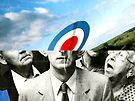Target Head in the Clouds Collage by foolsgoldfish