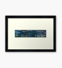 Claude Monet - The Water Lilies - Green Reflections (1915 - 1926)  Framed Print