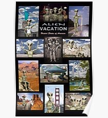 Alien Vacation - The Series Poster