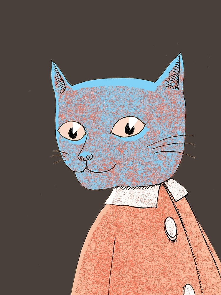 Cat Child Takes a Walk by SusanSanford