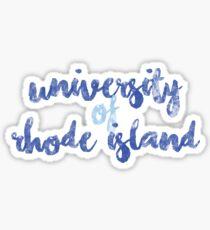 University of Rhode Island 2 Sticker