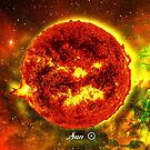 Sun in Space by Justin Beck