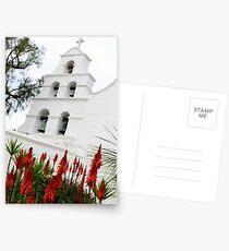 San Diego Mission Postcards