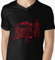 DEATH LOGO Men's V-Neck T-Shirt