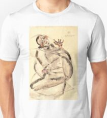 Egon Schiele - I Will Gladly Endure for Art and My Loved Ones, 1912  Unisex T-Shirt