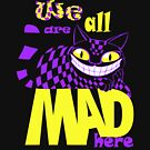 Cheshire Cat - Alice in Wonderland by starstuffstore
