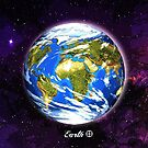 Planet Earth in Space by Justin Beck