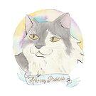 Cat Portrait by pokegirl93