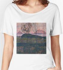 Egon Schiele - Setting Sun (1913)  Women's Relaxed Fit T-Shirt