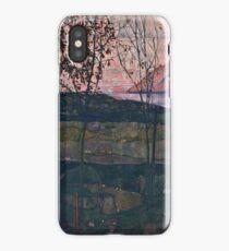 Egon Schiele - Setting Sun (1913)  iPhone Case/Skin