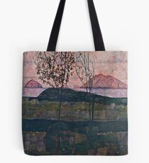 Egon Schiele - Setting Sun (1913)  Tote Bag