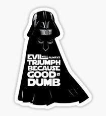 Dark Helmet - Fan art Sticker