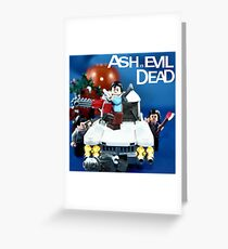 Ash Versus The Evil Dead Greeting Card