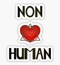 Non-Human (Therianthropy) Sticker