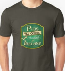 Pubs - the official sunblock of Ireland T-Shirt