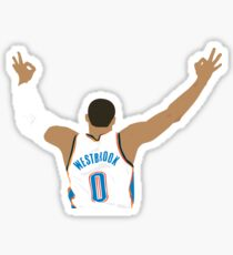 Russell Westbrook Sticker