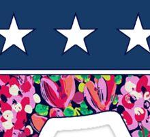 Preppy Democrat v4 Sticker
