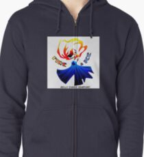 Fire and Ice Bellydance Company  Zipped Hoodie