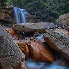 Douglas falls, Thomas, West Virginia by Jason Vickers