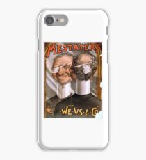 Mestayer's We-Us-And-Co - Strobridge - 1885 iPhone Case/Skin