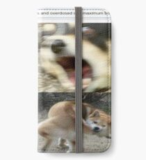 Doggos who borked three times and overdosed into maximum borkdrive iPhone Wallet