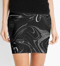 Midnight Marble Mini Skirt