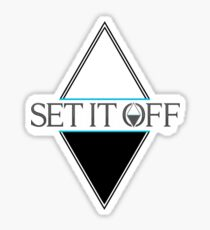 Set it off logog Sticker