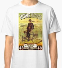"""""""HOWE BICYCLES"""" Vintage (1878) Advertising Print Classic T-Shirt"""