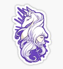 She Is The Last Sticker