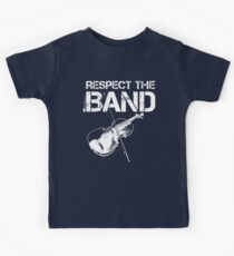 Respect The Band - Violin (White Lettering) Kids Clothes