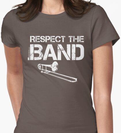 Respect The Band - Trombone (White Lettering) T-Shirt