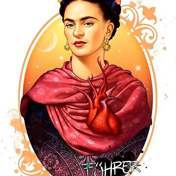 Frida Kahlo by FuhrerDoodles