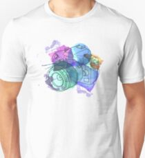 Watercolor Camera T-Shirt