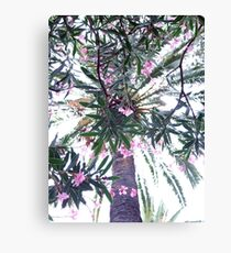 Tree and Flowers Canvas Print