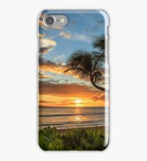 Sunset In Kaanapali iPhone Case/Skin