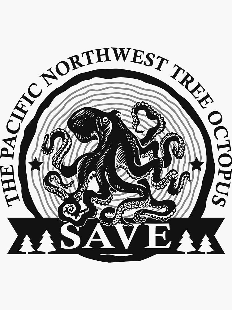 Sparen Sie den Pacific Northwest Tree Octopus von FR3DXVII
