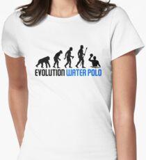 Camiseta entallada para mujer Evolución del polo acuático del hombre