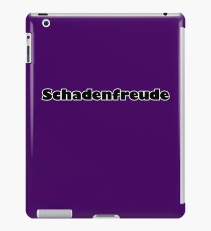Schadenfreude iPad Case/Skin