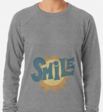 SMiLE! Brian Wilson cover Lightweight Sweatshirt